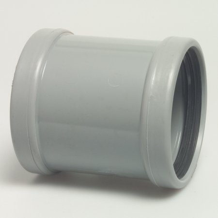 PVC push-on socket - ø 110 mm drain