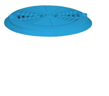 Aquareva vacuum bottom drain, Adria blue