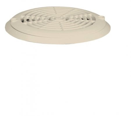 Aquareva vacuum bottom drain in beige