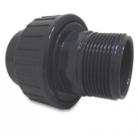 "PVC 50 mm x 2"" reducing coupler"
