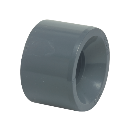 PVC reducer bushing - 63 mm x 6/4""