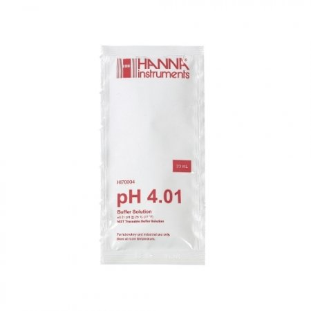 pH 4.01 Hanna Calibration Fluid 20 ml